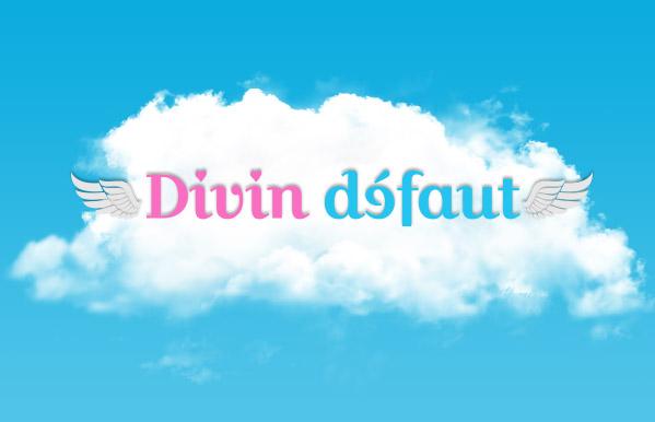 Logo sur nuage